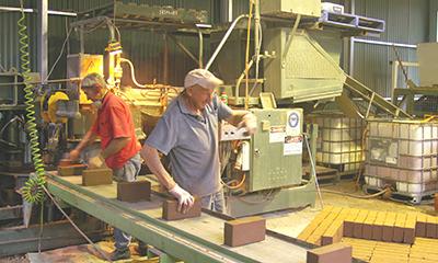 Brick Making Bsmart, Lochiel Park Malone & Telfer